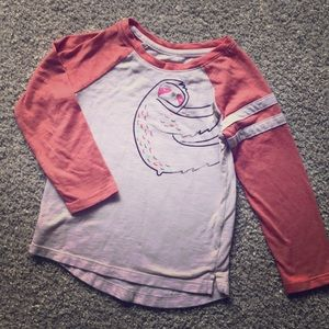 Girls Sloth Shirt
